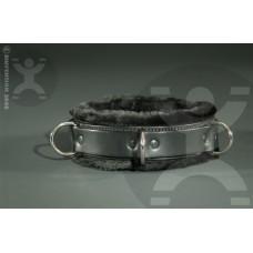 Slimline Luxury Fur Bondage Collar