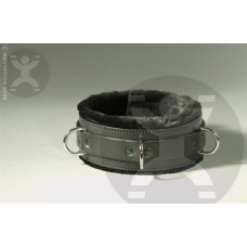 Luxury Fur Bondage Collar