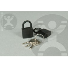 Solid Brass Padlock - Black Finish
