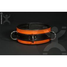 Classic Deluxe Bondage Collar in Orange