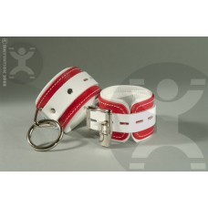Naughty Nurse Cuffs with Rings