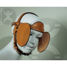 Round Brow Bridle with Removable Blinders